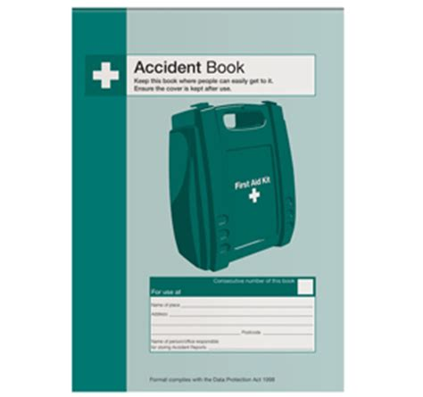 Hse accident reporting book 2017